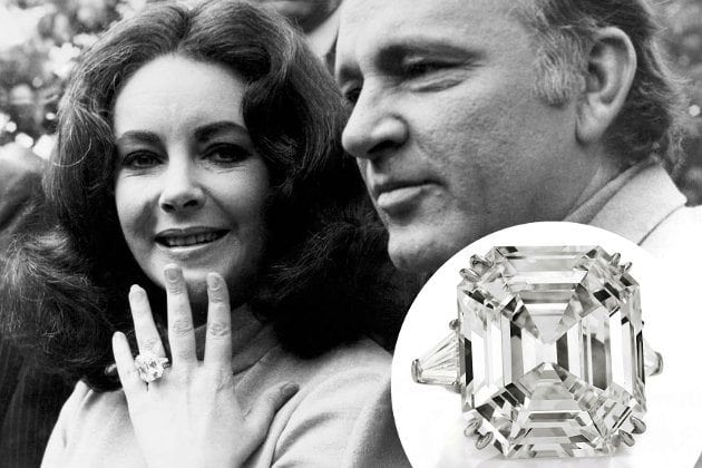 Engagement rings through the decades